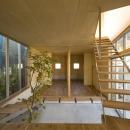 秋谷の家の写真 階段(撮影:淺川敏)