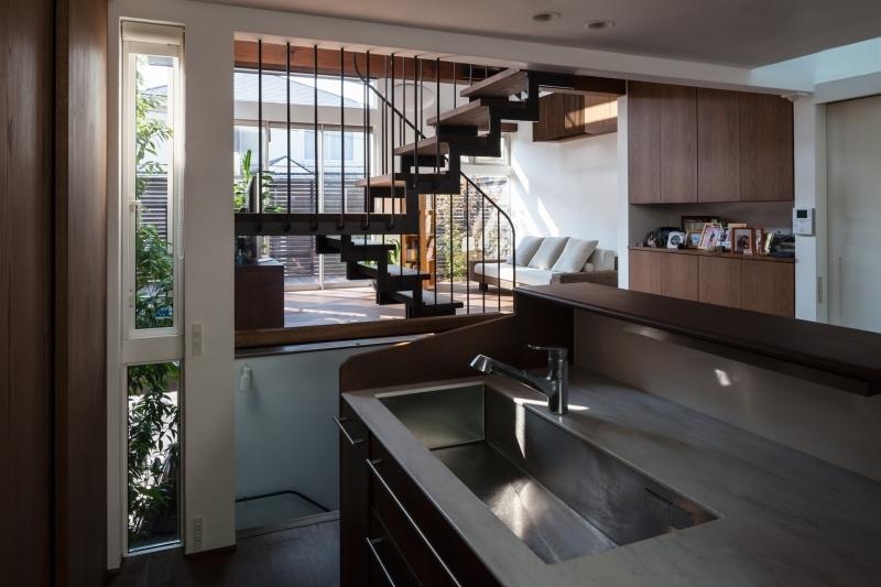 上目黒の住まいの写真 キッチン