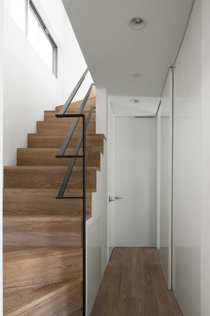 西萩の家の部屋 階段