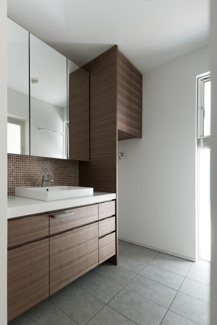 西萩の家の部屋 洗面所