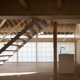 佐野の大屋根 (LDK-2(撮影:淺川敏))