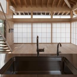 佐野の大屋根 (キッチン(撮影:淺川敏))