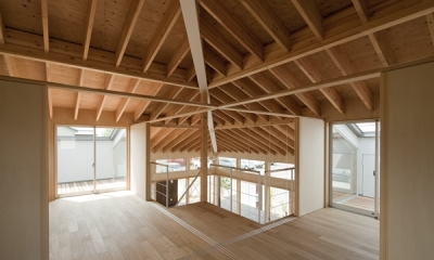 佐野の大屋根 (2階(撮影:淺川敏))