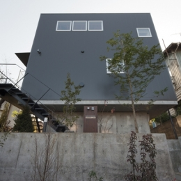 上麻生の家 (外観2(撮影:淺川敏))
