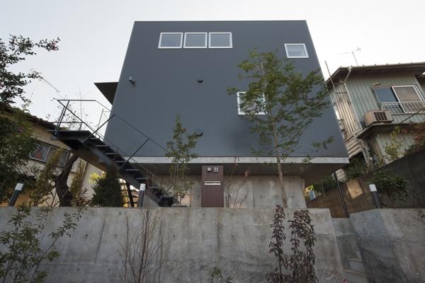 上麻生の家の部屋 外観2(撮影:淺川敏)