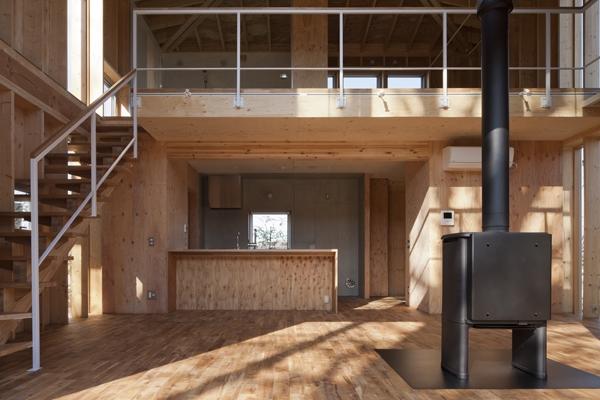 上麻生の家の部屋 LDK-1(撮影:淺川敏)