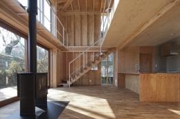 上麻生の家 (LDK-2(撮影:淺川敏))