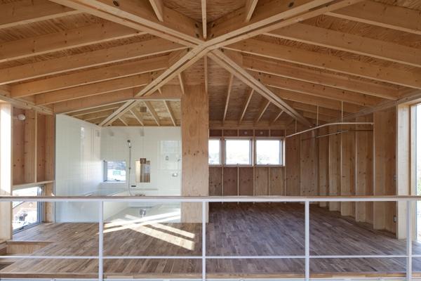 上麻生の家の部屋 2階-1(撮影:淺川敏)