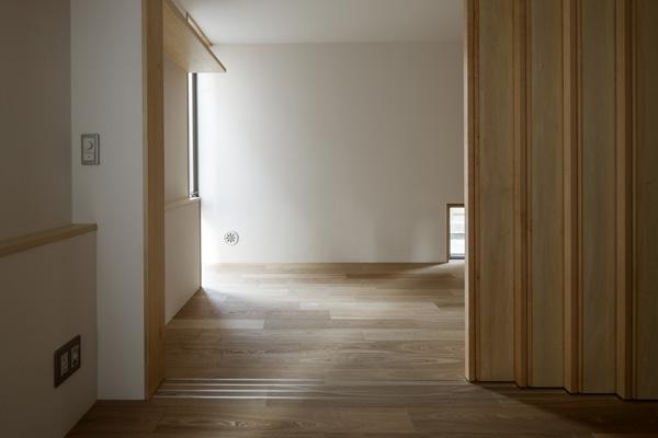 武蔵境の家 (洋間2(撮影:淺川敏))