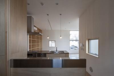 武蔵境の家 (キッチン(撮影:淺川敏))