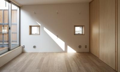 武蔵境の家 (ベッドルーム2(撮影:淺川敏))