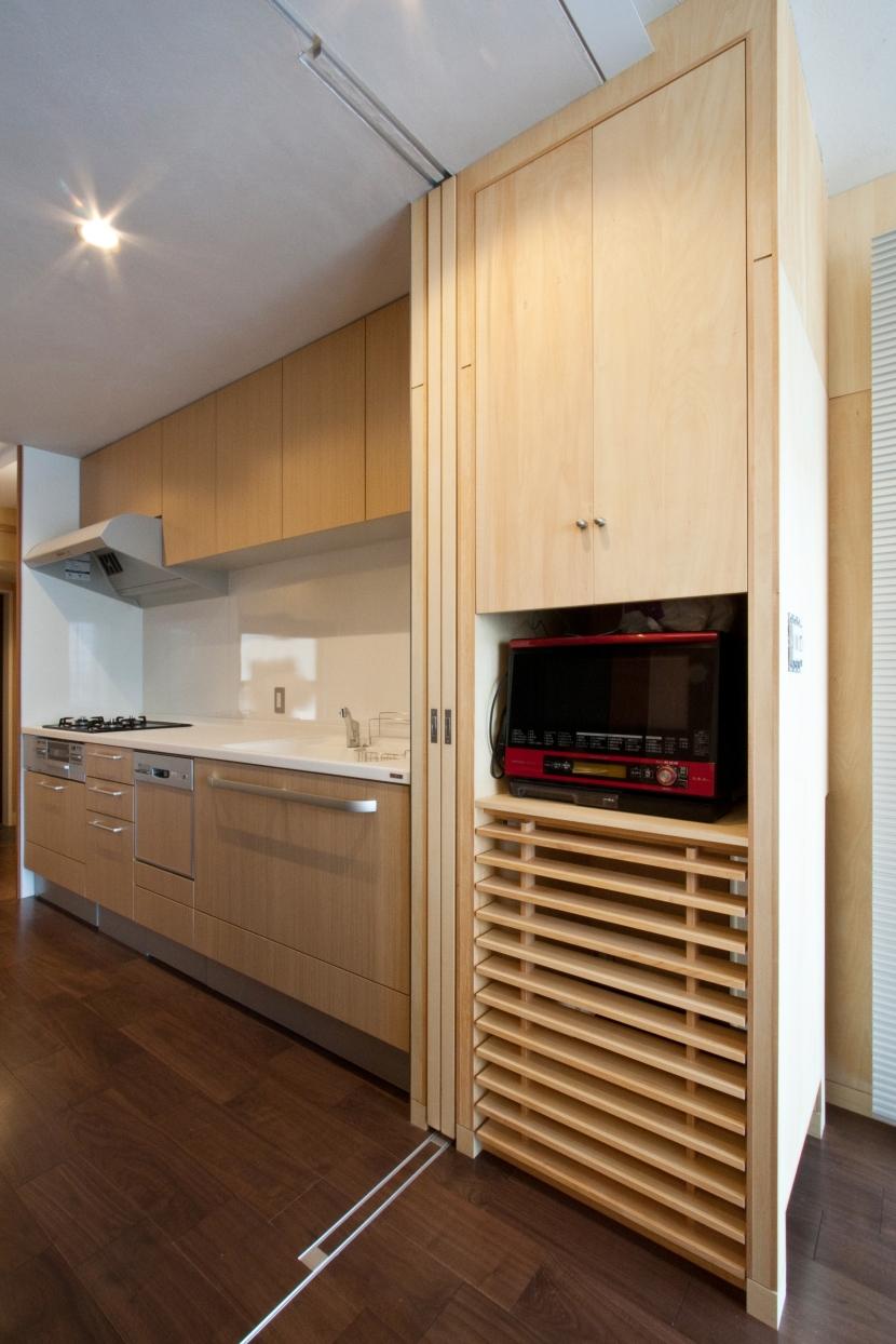 こだわりの自分空間の写真 キッチン
