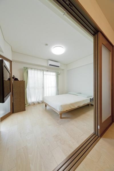 ベッドルーム (ルームシアターのある暮らし)
