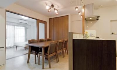 リビングキッチン2|ルームシアターのある暮らし