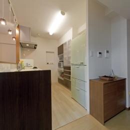 ルームシアターのある暮らし (キッチン)