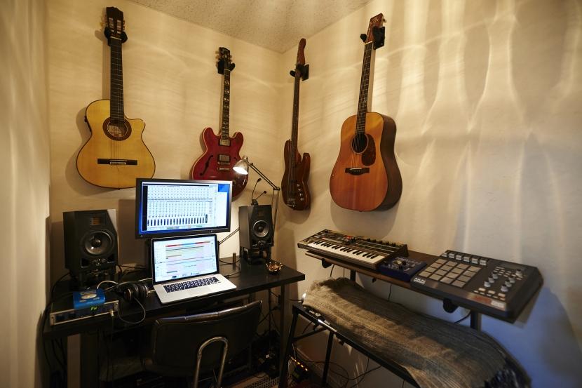 sessionの部屋 音楽部屋