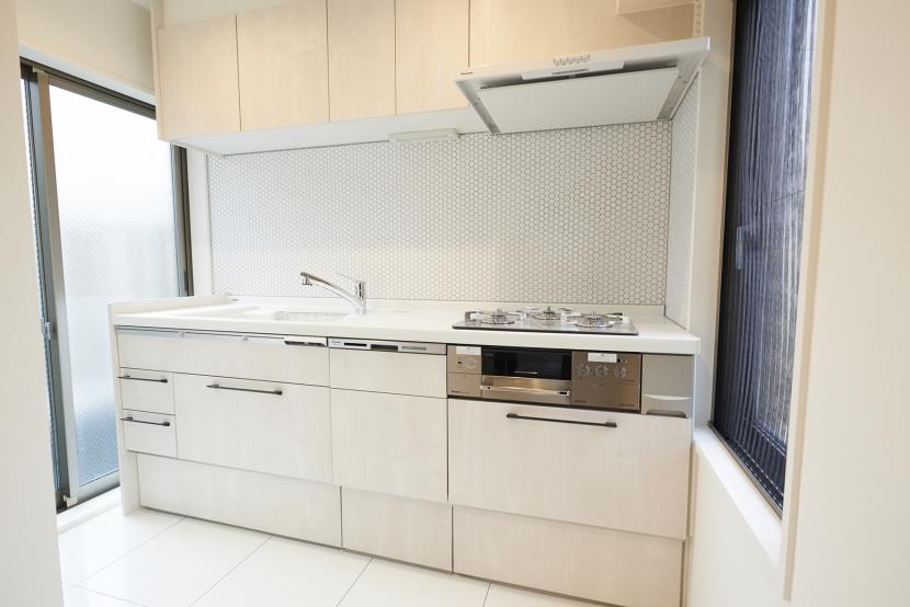 北欧のメゾネットの部屋 キッチン