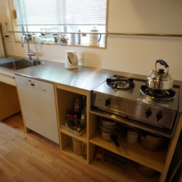 ののの家―コンパクトな2世帯住宅-キッチン