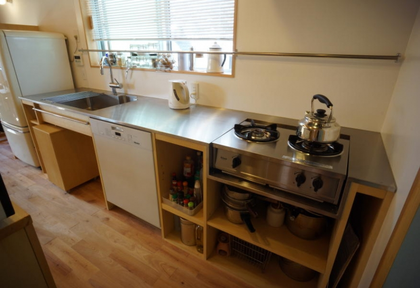 ののの家―コンパクトな2世帯住宅の部屋 キッチン