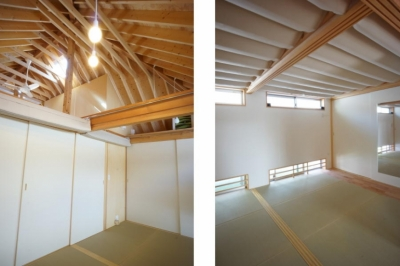 ののの家―コンパクトな2世帯住宅 (寝室)
