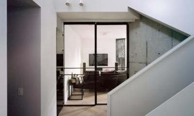 TN-house (階段ホール)