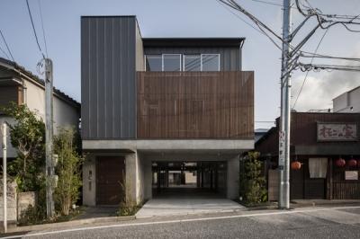 上大岡の家 (外観1(撮影:淺川敏))
