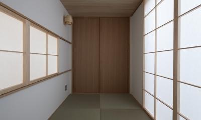 上大岡の家 (和室(撮影:淺川敏))