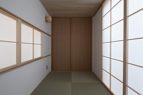 上大岡の家の部屋 和室(撮影:淺川敏)