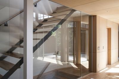 階段(撮影:淺川敏) (上大岡の家)