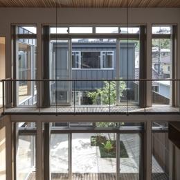 上大岡の家 (3階からの眺め(撮影:淺川敏))