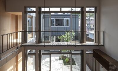 3階からの眺め(撮影:淺川敏)|上大岡の家