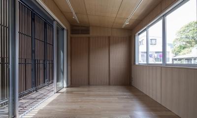 上大岡の家 (ベッドルーム2(撮影:淺川敏))