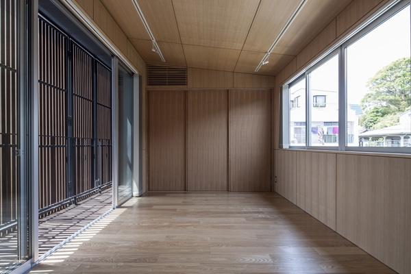 上大岡の家の部屋 ベッドルーム2(撮影:淺川敏)