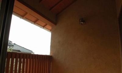 踏み天井の家