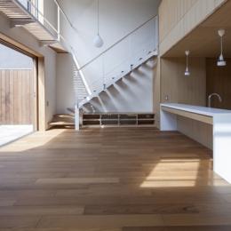 狛江の家 (LDK(撮影:淺川敏))