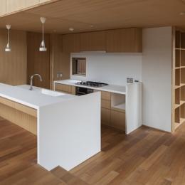 狛江の家 (キッチン(撮影:淺川敏))