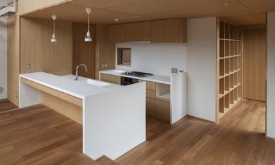 キッチン(撮影:淺川敏)|狛江の家