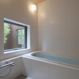 狛江の家 (浴室(撮影:淺川敏))