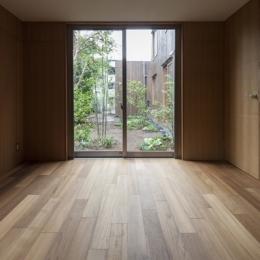 ベッドルーム(撮影:淺川敏) (狛江の家)