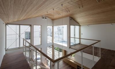 2階-1(撮影:淺川敏)|松原の切妻