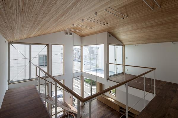 松原の切妻の写真 2階-1(撮影:淺川敏)