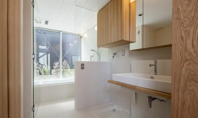 浴室(撮影:淺川敏) 松原の切妻