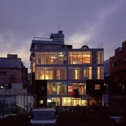 KEELS −四谷四丁目プロジェクト (外観2(撮影:淺川敏))