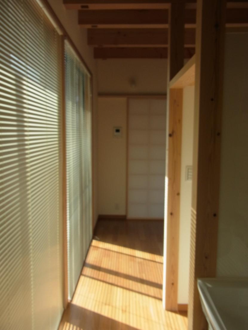 廊下 (10坪のちいさなおうち)