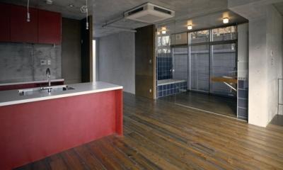 KEELS −四谷四丁目プロジェクト (Room-2(撮影:淺川敏))