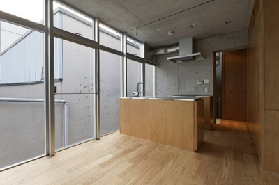 KEELS −四谷四丁目プロジェクト (Room-4(撮影:淺川敏))