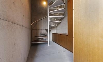 螺旋階段2(撮影:淺川敏)|KEELS −四谷四丁目プロジェクト