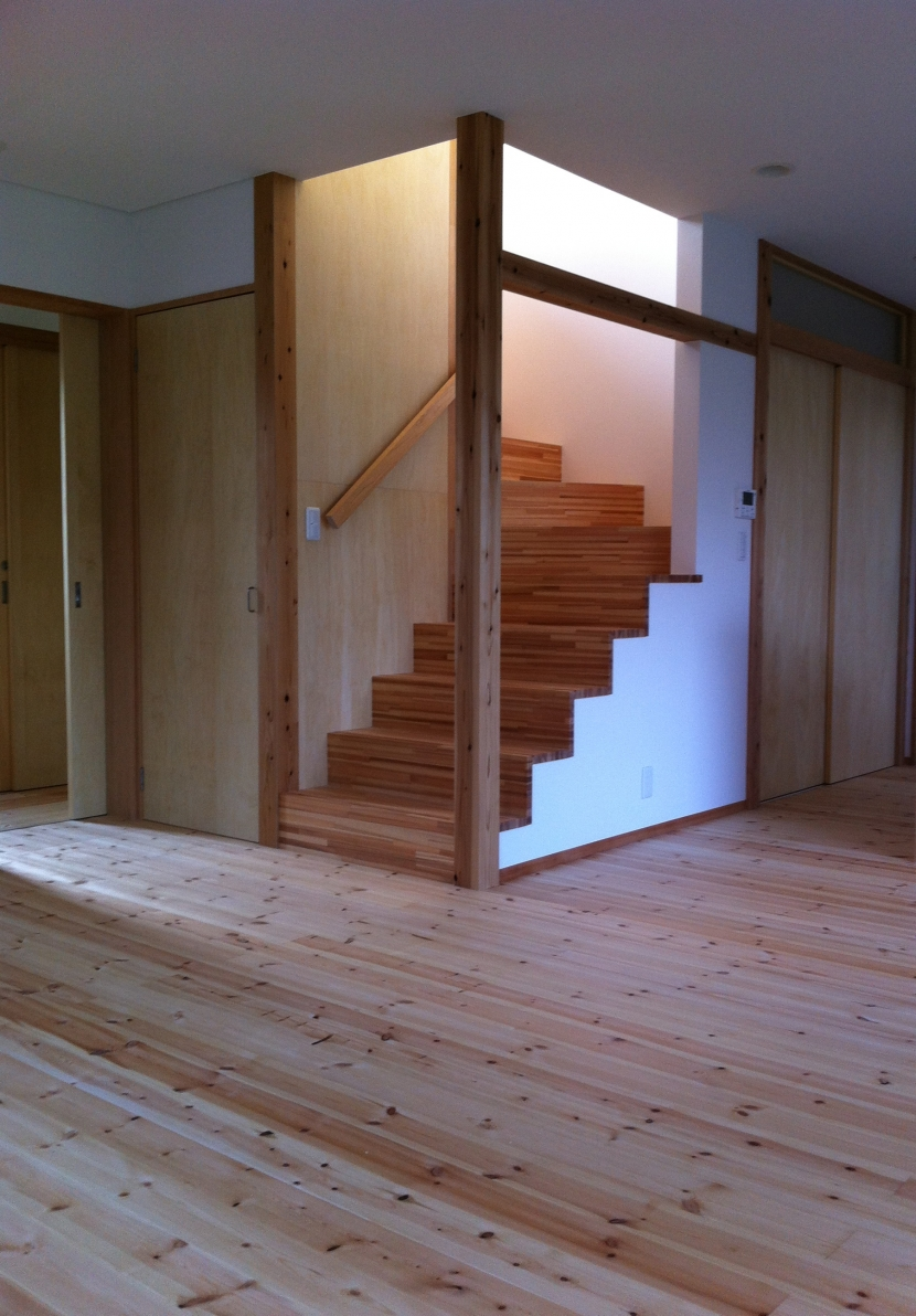 陽筒の部屋 階段