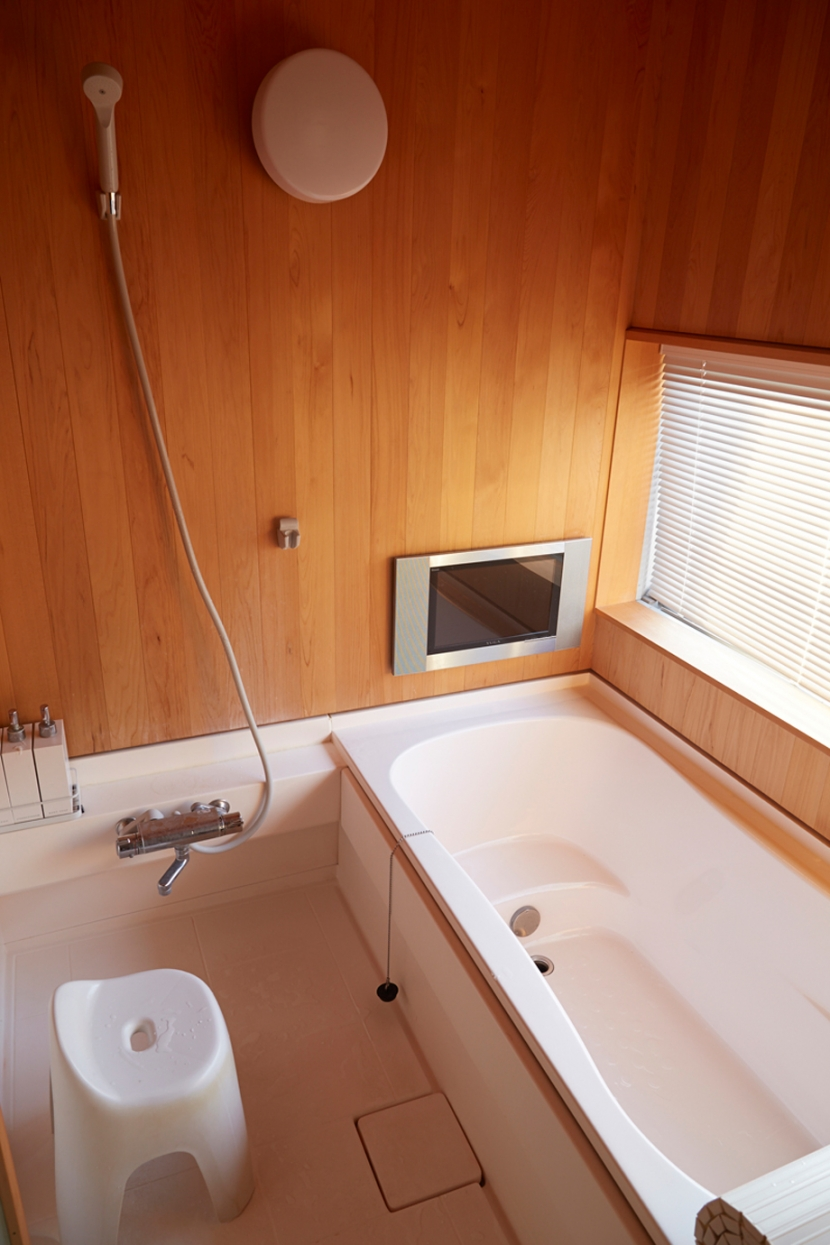 南大塚の住宅〜故郷の土間がある家〜の部屋 浴室
