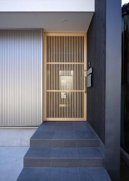 田島の住宅 (玄関)